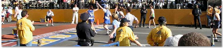 Boston Marathon, 2002